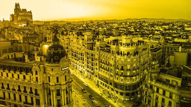 Madrid: l'Espanya de les banderes