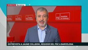 """Jaume Collboni: """"Barcelona no ha estat moneda de canvi"""""""