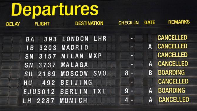 Què puc fer si encara tinc un val per un vol suspès per la pandèmia?