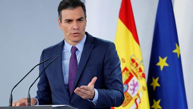 Sánchez no aclareix si va ajudar el rei emèrit a fugir ni a quin país ha marxat