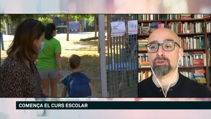 """Salvador Macip: """"Encara no sabem com els nens es contagien de la Covid"""""""
