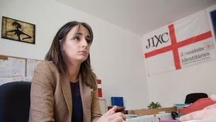 Mónica Lora, la veu identitària de Vox al Parlament