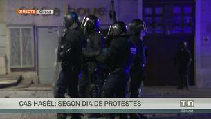 Aldarulls a Barcelona, Lleida, Girona i Madrid després de les concentracions contra l'empresonament de Pablo Hasél