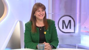 """Laura Borràs: """"Divendres hi haurà candidat i hi haurà ple"""""""