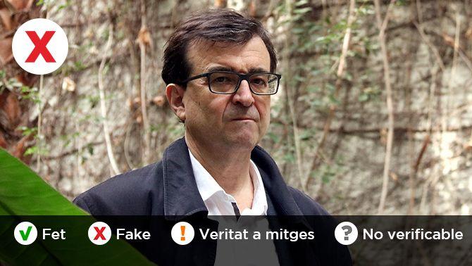 És cert que Javier Cercas va demanar una intervenció militar a Catalunya?
