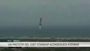 El prototip de coet Starship de SpaceX aconsegueix aterrar