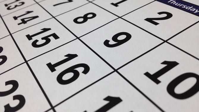 El calendari escolar del curs 2021-22: del 13 de setembre al 22 de juny