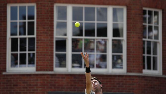 Albert Ramos, eliminat a la primera ronda del torneig de Queen's