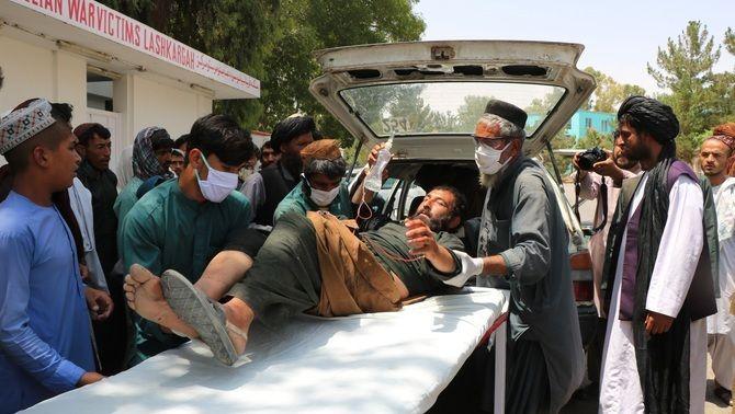 L'ONU ha comptabilitzat 111.000 víctimes civils afganeses, inclosos 35.000 morts, des del 2009 (Europa Press)