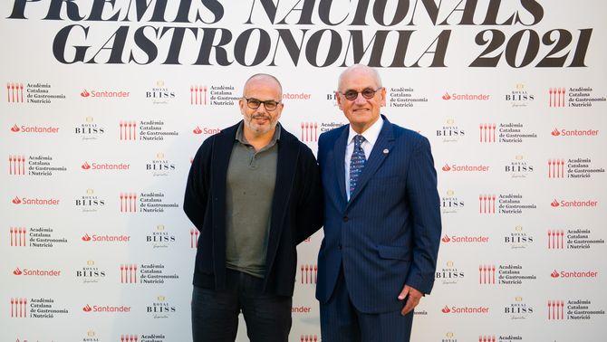 El xef Jordi Vilà, del restaurant Alkimia, Premi Nacional de Gastronomia 2021