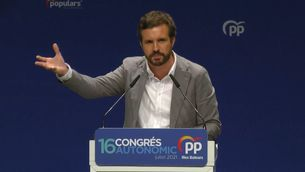 Pablo Casado sobre el català a les Illes