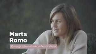 """Marta Romo: """"El dia comença la nit anterior. Si no descanses no tindràs força de voluntat suficient"""""""