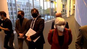 Puigdemont, Comín i Ponsatí sense immunitat perque el TGUE no veu perill de detenció