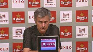 Mourinho fa un gest de pudor