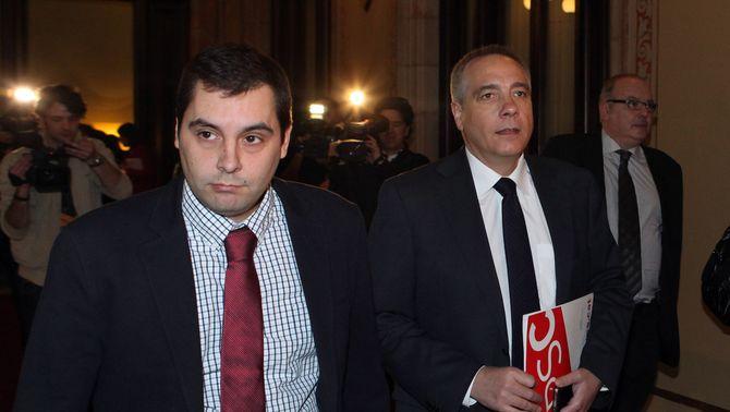 Pere Navarro anuncia que el PSC votarà en contra de la declaració de sobirania de CiU, ERC i ICV