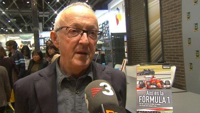 """El periodista de TV3 Francesc Rosés presenta el llibre """"Així és la Fórmula 1"""""""