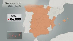Més bona ocupació a Catalunya que a Espanya amb l'EPA de l'abril