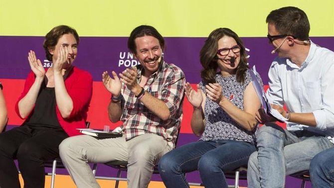 Iglesias defensa la plurinacionalitat de l'Estat i els serveis públics en un acte a Palma