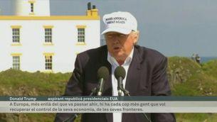 """Trump: """"El més important és que els britànics han recuperat la seva independència"""""""