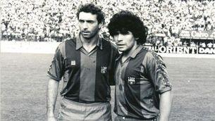 Quini i Maradona