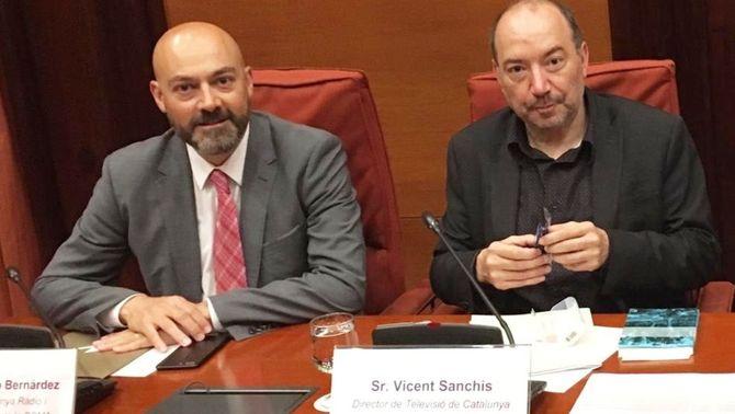 Saül Gordillo i Vicent Sanchis.