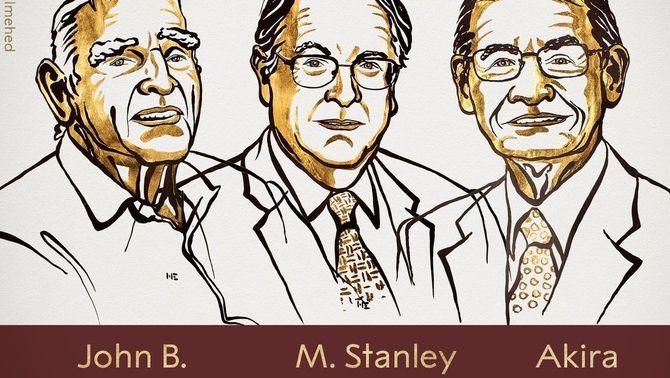 El Nobel de Química premia els creadors de les bateries de liti