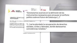 Avenços tímids en les negociacions d'Esquerra i el PSOE