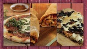 Tres pizzes