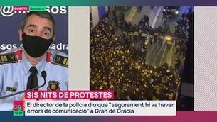 Planta baixa - Sis dies de protestes i aldarulls
