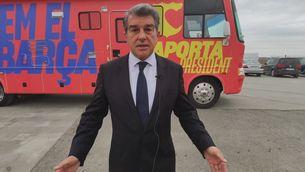 """Laporta: """"Aquests fets perjudiquen la imatge del Barça"""""""