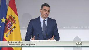 Sánchez desitja sort a Iglesias i diu que no hi haurà cap problema ni malentès per substituir-lo