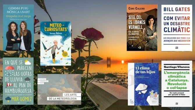 Vuit llibres del temps i el canvi climàtic recomanats per Sant Jordi