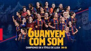 El Barça ja és campió de Lliga