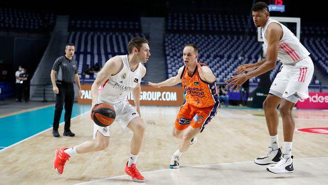 El Madrid es desfà del València en un partit vibrant (80-77) i jugarà la final de l'ACB