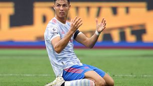 Cristiano, durant el partit contra el West Ham