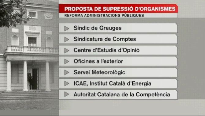 El govern espanyol planteja suprimir el CEO o el Síndic de Greuges en la reforma de les administracions