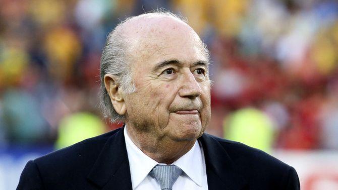 Joseph Blatter presenta la seva dimissió com a president de la FIFA
