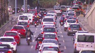 Els congressistes i els usuaris del transport públic, com sardines