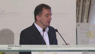 Bosch proposa un tripartit amb la CUP per entrar al govern municipal de Colau