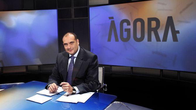 Xavier Bosch, presentador d'Àgora