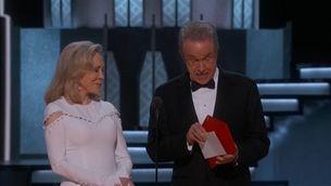 Error monumental a la gala dels Oscars