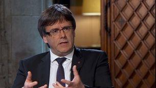 Entrevista al president de la Generalitat - 13/09/2017