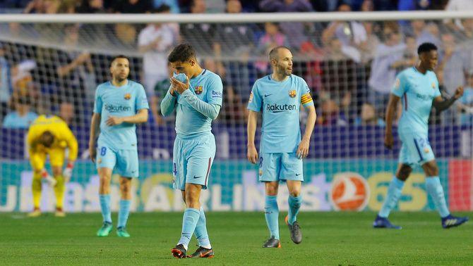 El Barça estableix en 43 el rècord de partits seguits sense perdre a la Lliga