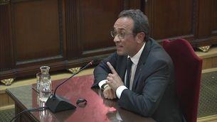 """Josep Rull pregunta al tribunal: """"És un judici sobre idees o sobre fets?"""""""