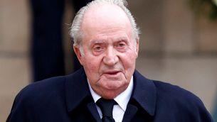 Joan Carles I al funeral del Gran Duc Joan de Luxemburg, el maig de 2019