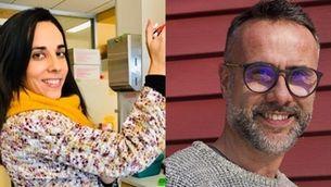 Quim Miró i Núria Coll-Bonfill, la parella que escriu i investiga a Saint Louis, EUA