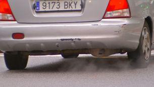 Nou impost per als vehicles que emetin més de 120 g/km de CO2