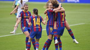 Allau de missatges de suport al Barça femení