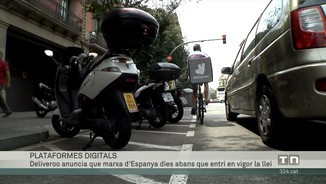"""Imatge de:Deliveroo diu que marxarà d'Espanya, dies abans que entri en vigor la """"llei rider"""""""