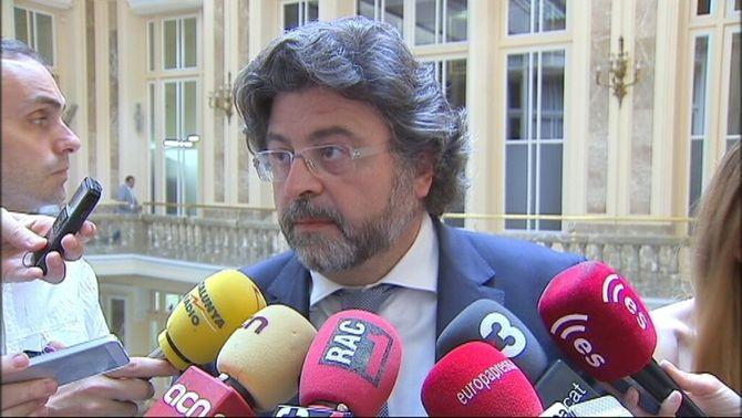 El director general d'Universistats, Antoni Castellà, en una imatge d'arxiu